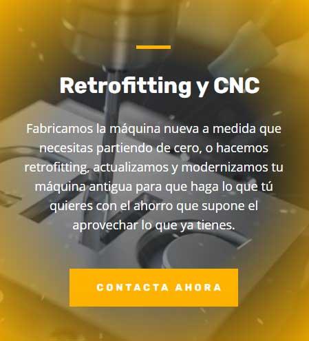 Actualización de Maquinaria. Retrofitting-CNC